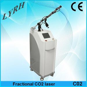 China 10600 nm laser co2 fractional on sale