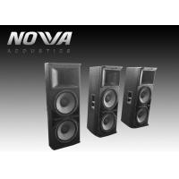 Powered Conference Hall Sound System 37 Hz-20 KHz With Birch Plywood