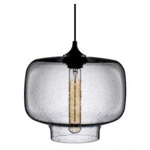 China Pendant Light Fixtures , Modern Color Clear Glass Pendant  lights Villa Design Project on sale