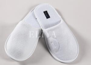 China Custom Hotel Bathroom Amenities Spa Slippers / Disposable House Slippers for Guest on sale