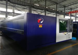 China Bolt Structure Industrial Laser Cutting Machine With IPG Laser Source on sale