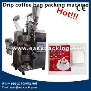 China price Drip Coffee Bag Packing Machine,coffee packing machine with inner bag and envelope on sale