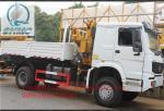 El camión hidráulico de elevación 3200KG montó las grúas/la grúa del camión del servicio