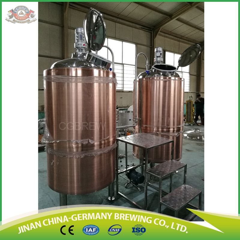 300L craft beer production line with fermenters with