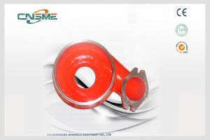 China Blue / Red Sand OEM Pump Parts Dredging Submersible Pump Casing on sale