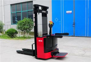 China Narrow Aisle Electric Hand Pallet Truck , Motorized Pallet Stacker 1.8 Ton 2 Ton on sale