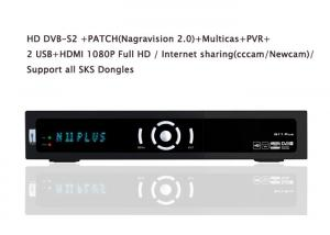 China DVB-S2 HDMI 1080P Full High Definition digital Satellite Receivers With USB 2.0 Host on sale