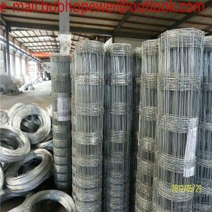 12/150/30/100)Hot Dipped Galvanized Fixed Knot Cattle Fence/deer ...
