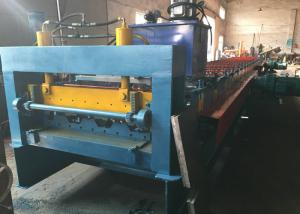 China Sheet Floor Deck Roll Froming Machine Structural Concrete 11.5mx1.4mx1.4m Size on sale