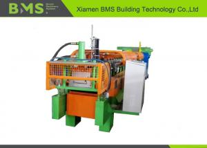 China Durable Steel Wall Cold Roll Forming Machine Cr 12Mov Cutting Blade Material on sale