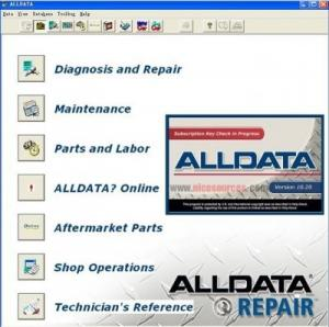 China Alldata 10.20 + 2012 Mitchell ondemand 5 WIS Workshop Data Auto Repair Diagnostic Software on sale