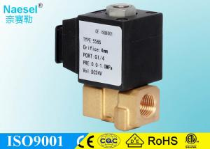 China Home Coffee Machine Explosion Proof Solenoid Valve , Food Grade Brass Solenoid Valve on sale
