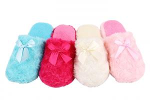 China Eco Friendly Warm Soft Disposable Hotel Slippers For Airplane / Cruises on sale
