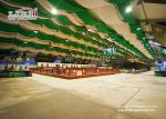 Multi Function 6.75m Double PVC Fabric Two Storey Tent