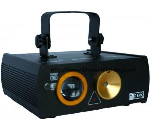 China 150mw RGY twinkling laser light with 3W RGB led BS-6008 on sale