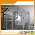 Aluminum Profile + Glass, Super Strong DIY Glasshouse - 195X253X250CM (L X W X H)