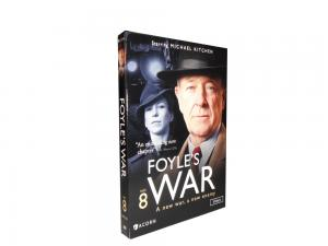 China hot sale FOYLE's WAR The home front files Season 8 3dvds new reelsae on sale
