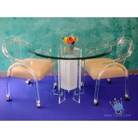FU (68) acrylic counter height dining set