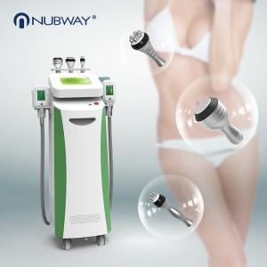 China 5 handles Cavitaion RF Weight Loss Fat Freezing Cryolipolysis slimming machine on sale