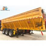 3 Axles 50 Tons With FUWA Brand Axles Crawler Dump Truck Semi - Trailer Export To Southeast Asia and other countries