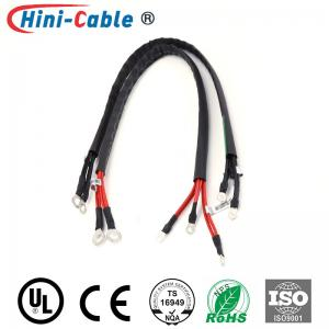 China Insulated Ring Terminals UL 1569 14AWG Wire Harness Assembly on sale