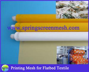 China Flatbed Textile Printing Mesh Material Polyester Fabric on sale