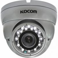 "6mm / CS Fixed Lens 3.5"" IR Vandalproof Plastic Dome Camera With SONY, SHARP Color CCD"