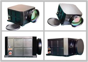 China Long Range Thermal Security Camera With Cooled FPA Detector / Dual- FOV , Weather - Proof on sale