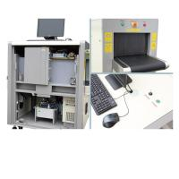 China Detection Image Hotel / Station Portable Baggage X Ray Machine With 8 Mm Penetration 24-bit True Color Display on sale