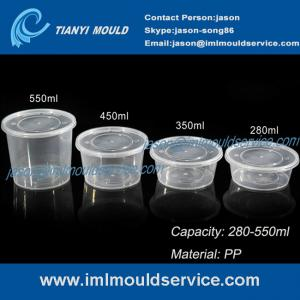 280ml 350ml 450ml 550ml clear pp disposable plastic bowls and tableware mould for sale pp thin walls disposable plastic bowls product manufacturer from china 105482684 thin wall mould