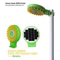 Solar LED Garden Lights with Light Sense | Sunflowers Style