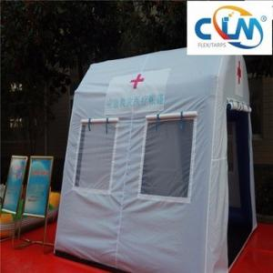 China Tent buildings maid by PVC coated fabric /Anti-mildew and waterproof /membrane roofing on sale