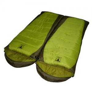 China hollow fiber sleeping bags green envelope sleeping bags  GNSB-037 on sale