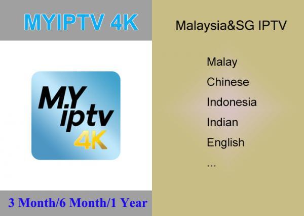 Malaysia Singapore IPTV MYIPTV APK for Malay , Chinese