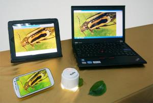 China High Speed Cameras HD720 5.0MP USB WIFI Microscope For iPad Android PC--W5 on sale