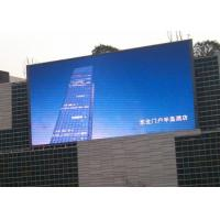China PH10mm 60HZ 1/4 Scan Outdoor DIP Led Display Sign For Advertising on sale