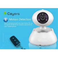 SD Card Storage Wireless IP Security  Camera Email Alarm Remote Pan / Tilt  Control