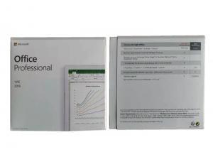 China Multi Language Microsoft Office 2019 Professional For PC Original Licence Key Card on sale