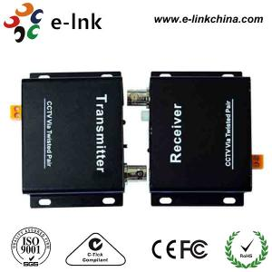 China 4ch Passive Cctv UTP Video Power Balun With One Transmitter / Receiver on sale