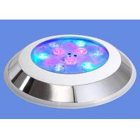 China AC 12V 24V 27W IP68 Underwater LED Lights RGB Wall Mounted For Swimming Pool on sale