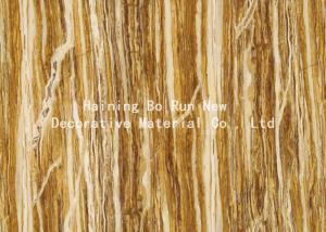 China Woods Foil Wallpaper Feeling Wood Grain Film on sale