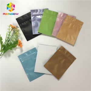 China Heat Seal Stand Up Pouch Packaging Custom Printed Aluminum Foil Vacuum Packing Bags on sale