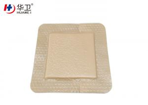 OEM Skin Color Silicone Foam Dressing For Medical Materials