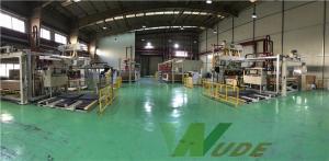 China Flooring MDF PB Board Low Pressure Laminate Machine / Melamine Laminating Machine on sale