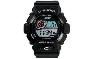 China Skmei PU LCD Digital Movt Sport Watch , OEM 3 ATM Kids Electronic Watch on sale