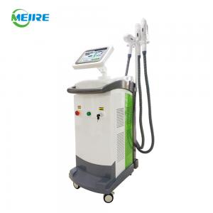 China 360-degree Rotatable Screen Multifunction OPT SHR Nd YAG Laser Beauty Machine on sale