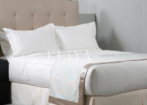 China Luxury Bedding Set Wholesale Home Textile100% Cotton Hotel Bed Sheet Set on sale
