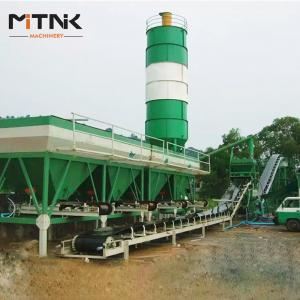 China WCB 300 Stationary Stabilized Soil Mixing Plant on sale