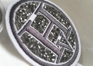 China Remiendos de goma creativos del logotipo 3D, etiquetas lavables de la ropa del PVC de la tela on sale