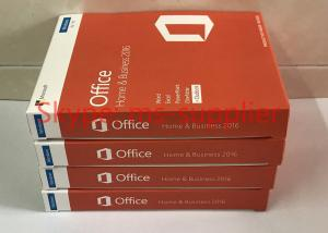 China Microsoft Office 2016 Home and Business For Mac English For Windows PC , 32 / 64 Bit DVD Drive on sale